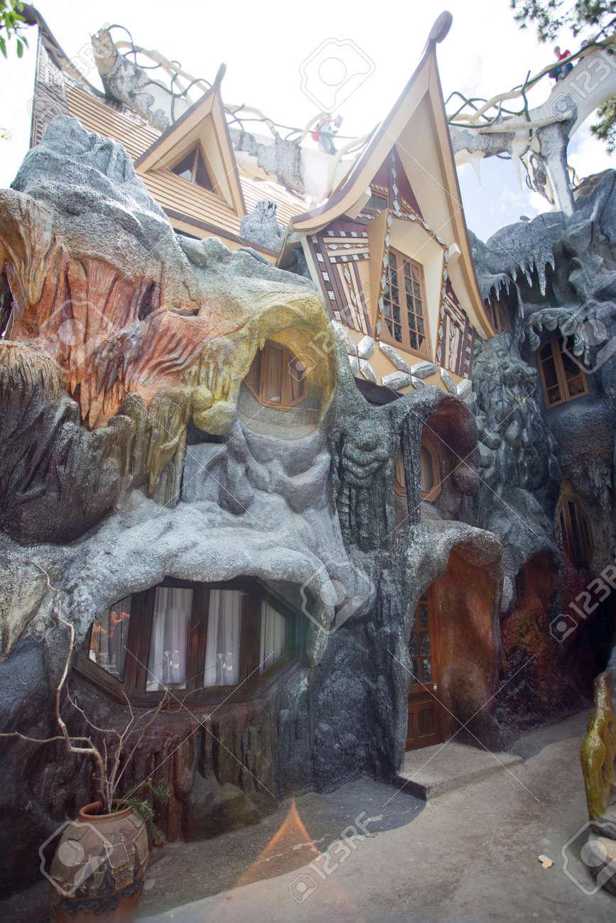 DALAT, VIETNAM. FEB 29, 2016. Hang Nga Guesthouse Crazy House In ...