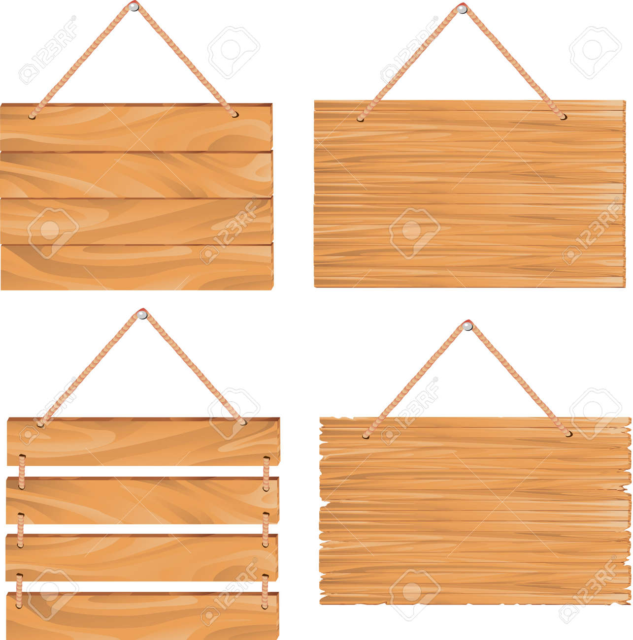 Hanging Wood Sign Clipart 94021