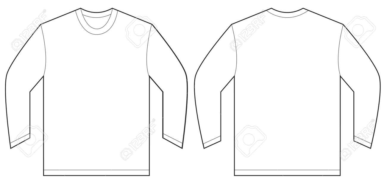 Free Long Sleeve T Shirt Design Template Bcd Tofu House