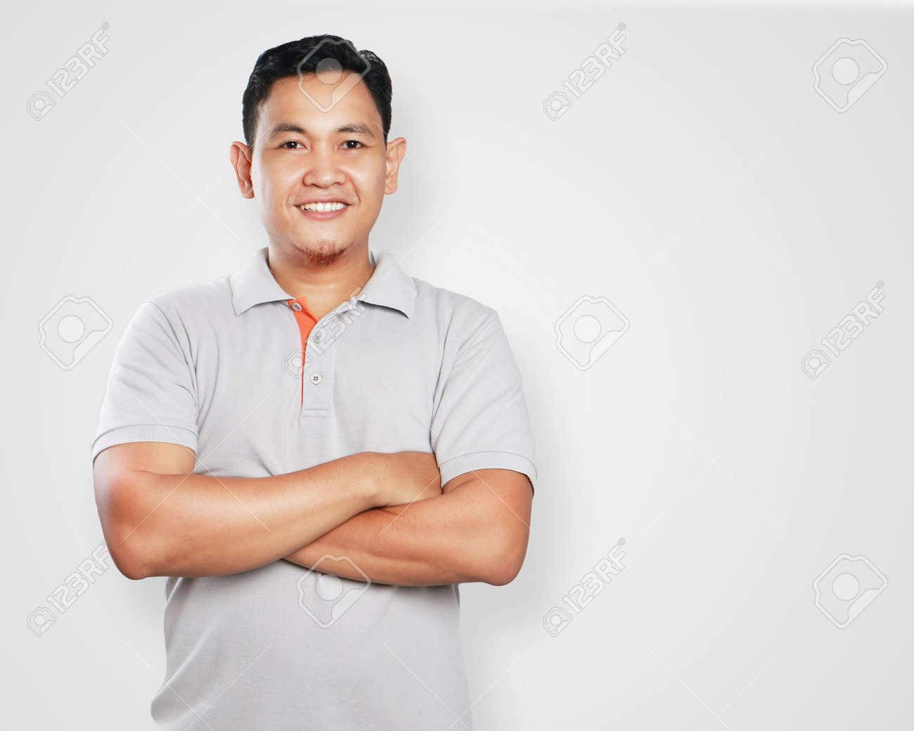 Gutaussehender asiatischer Mann