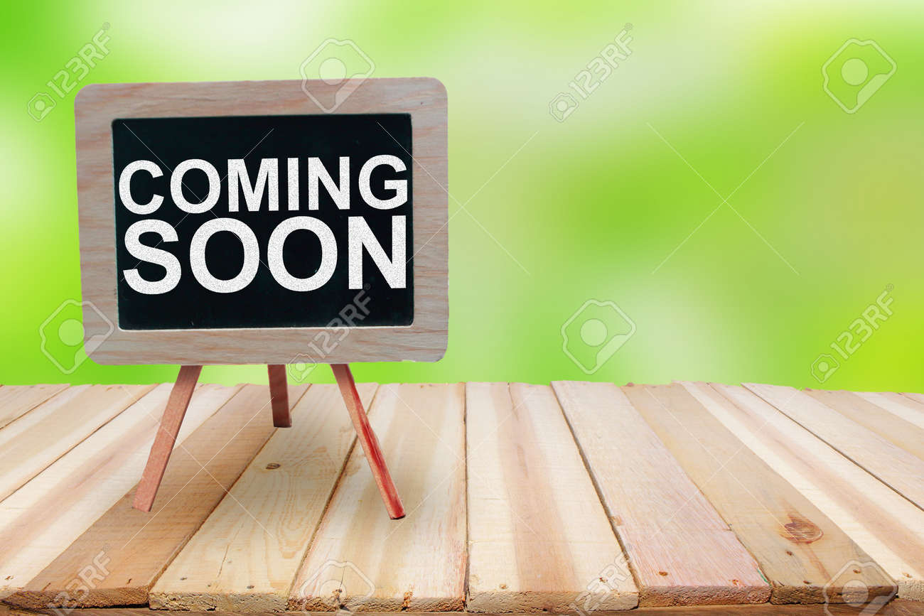 Coming Soon Motivational Inspirational Business Marketing Words Stock Photo Picture And Royalty Free Image Image 122195212