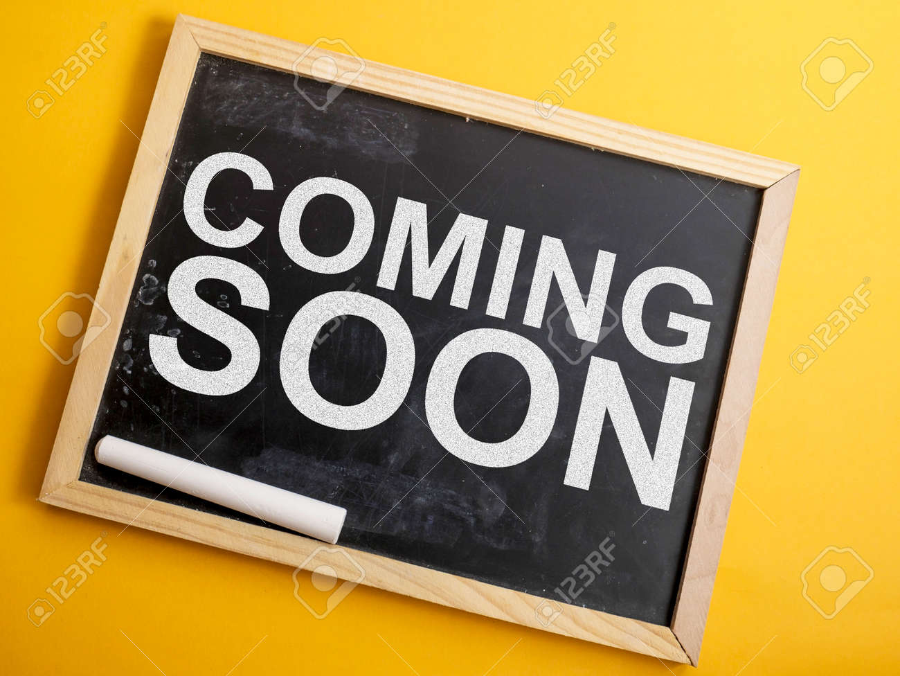 Coming Soon Motivational Inspirational Business Marketing Words Stock Photo Picture And Royalty Free Image Image 122466387