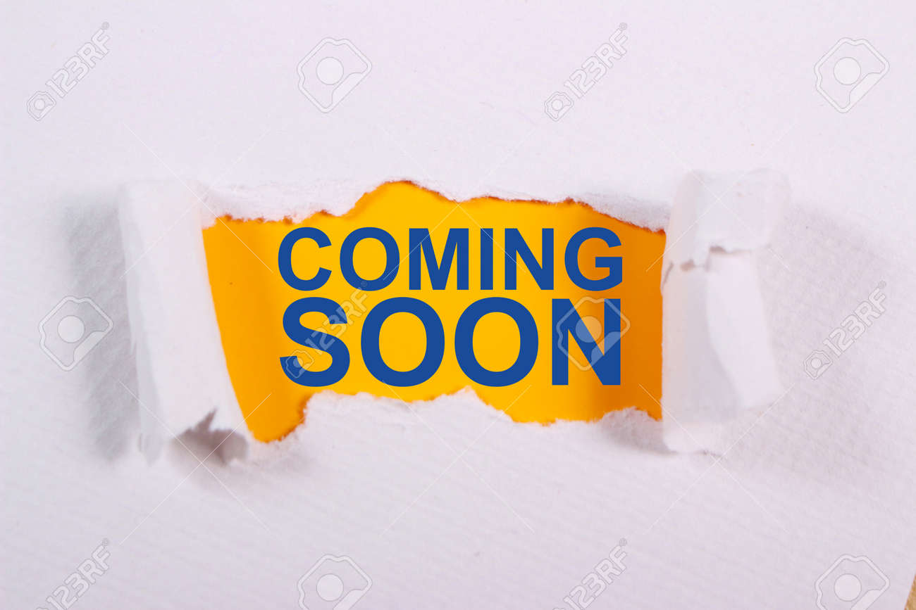 Coming Soon Motivational Inspirational Business Marketing Words Stock Photo Picture And Royalty Free Image Image 123739660