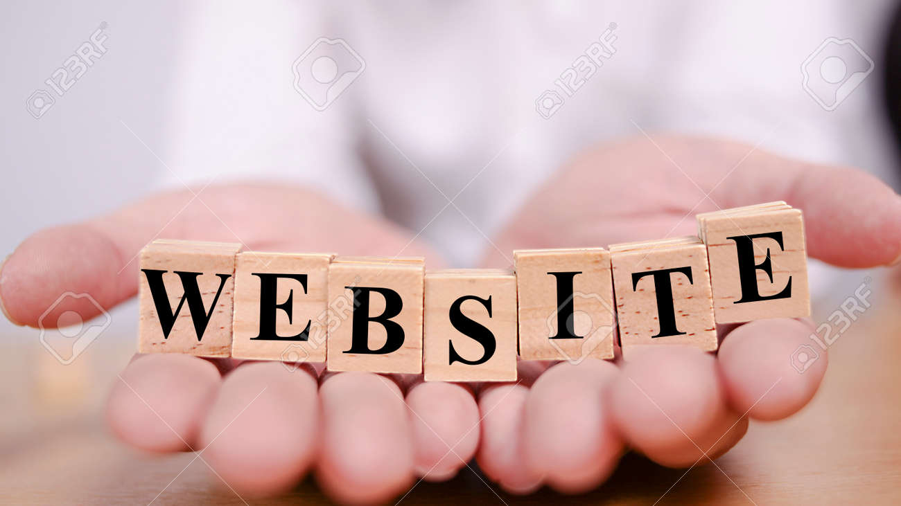 Website Internet Business Technology Motivational Inspirational Stock Photo Picture And Royalty Free Image Image 127851626