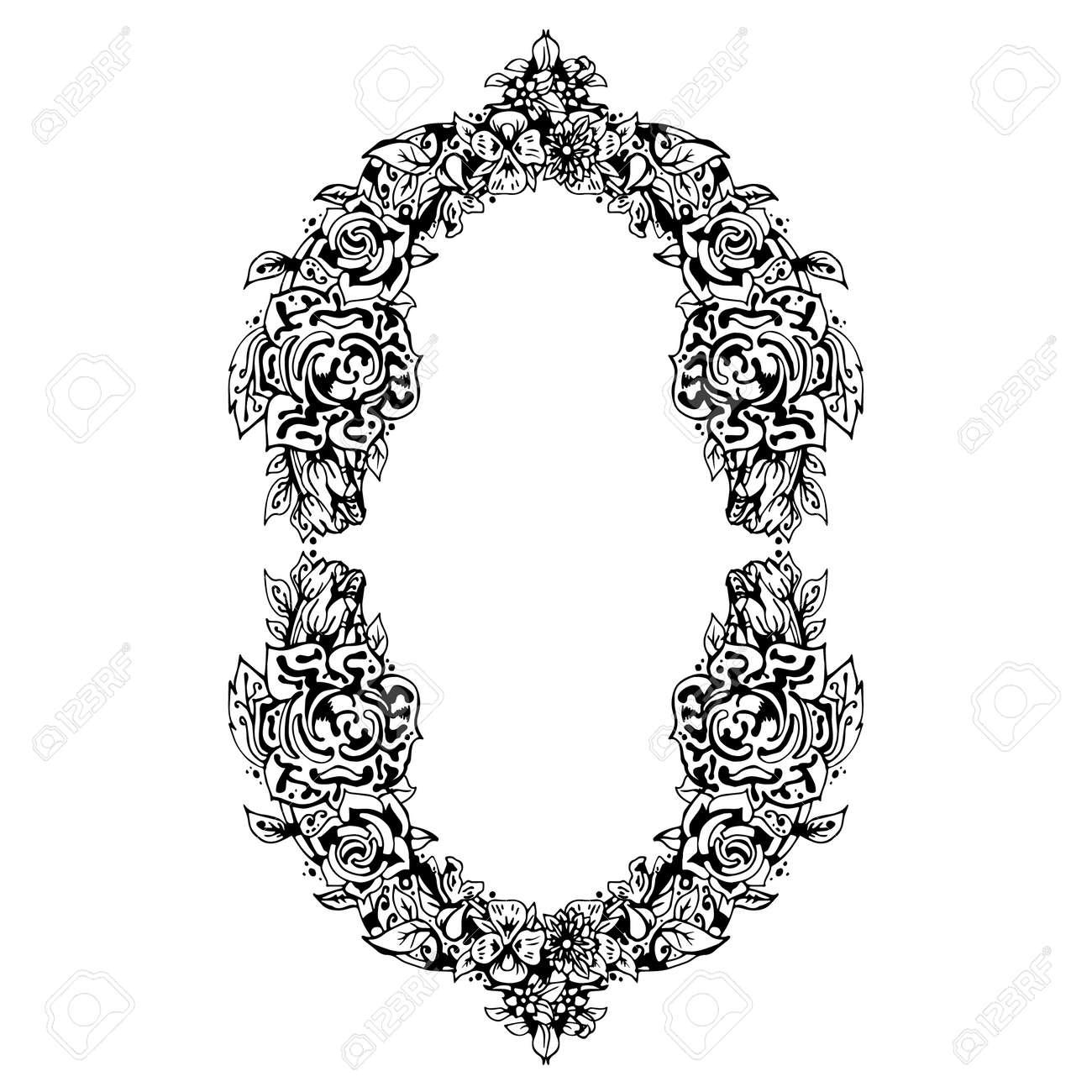 Asombroso 5x7 Negro Marco De Imagen Ovalada Embellecimiento - Ideas ...