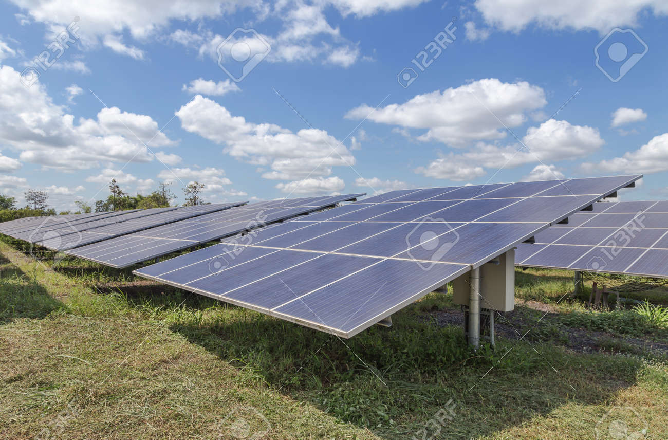Cellule Photovoltaïque En Silicium Amorphe destiné bouchent rangée rangées de cellules solaires de silicium