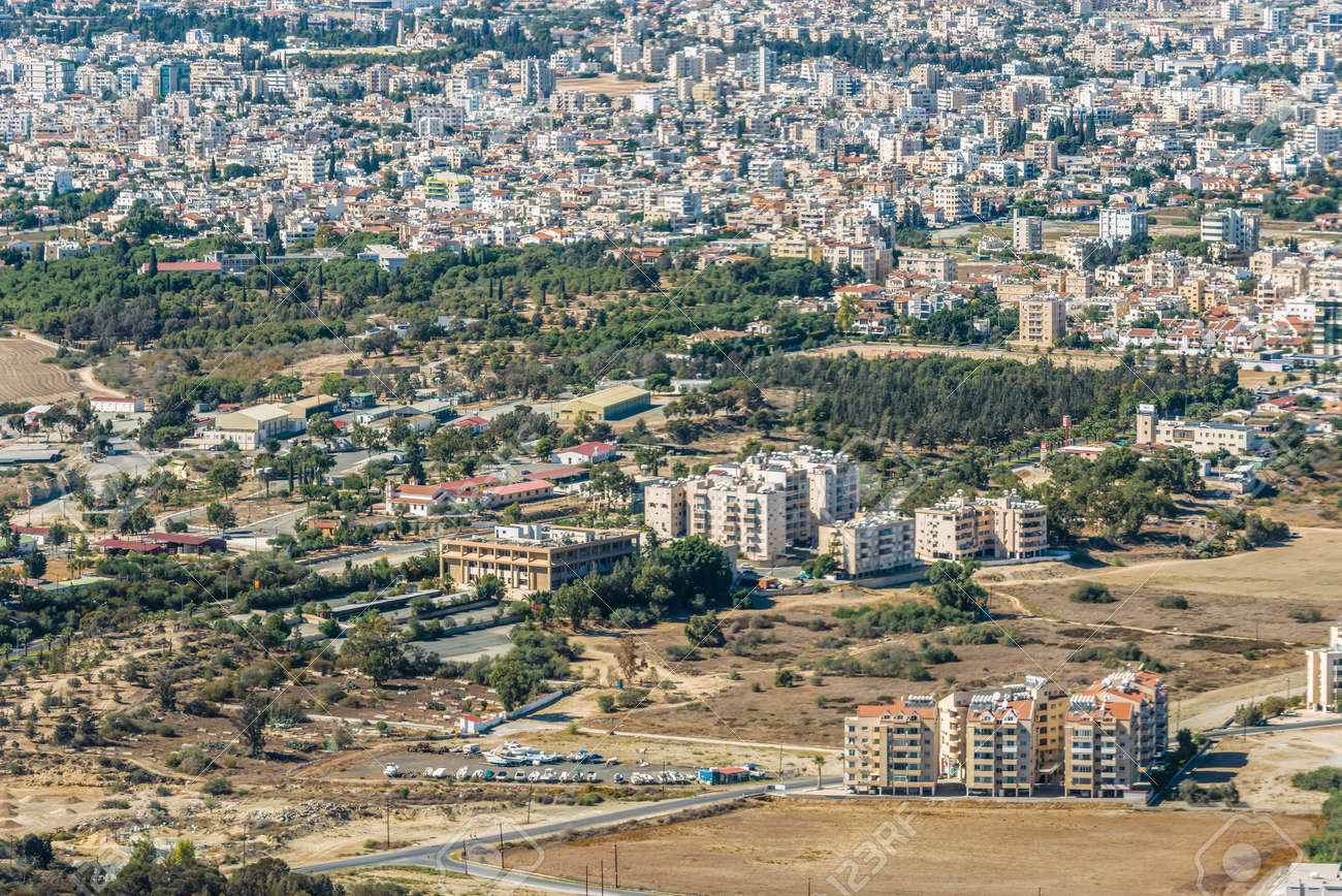 Detail Of The City Of Larnaca Cyprus Stock Photo Picture And Royalty Free Image Image 65817082