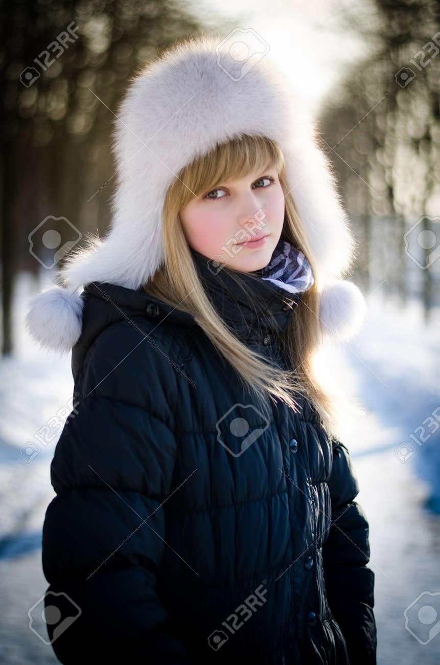 Фотографії блондинок і зима 4 фотография