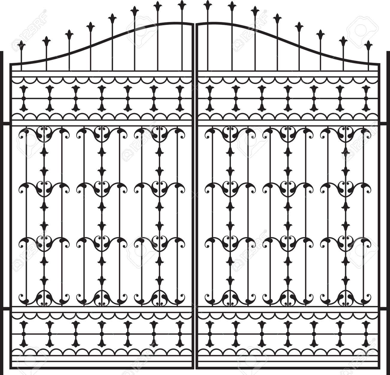 Schmiedeeisernes Tor, Tür, Zaun, Fenster, Grill, Geländer Design ...