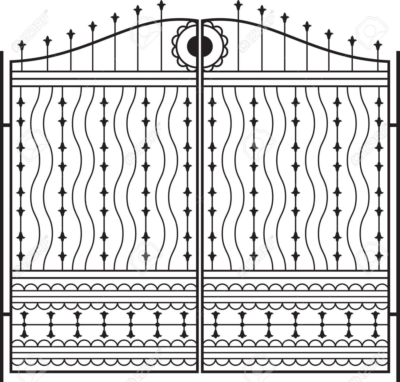 Puertas De Hierro Exterior Beautiful Puerta Hierro Chapa Doble  ~ Puertas Hierro Exterior Fachadas