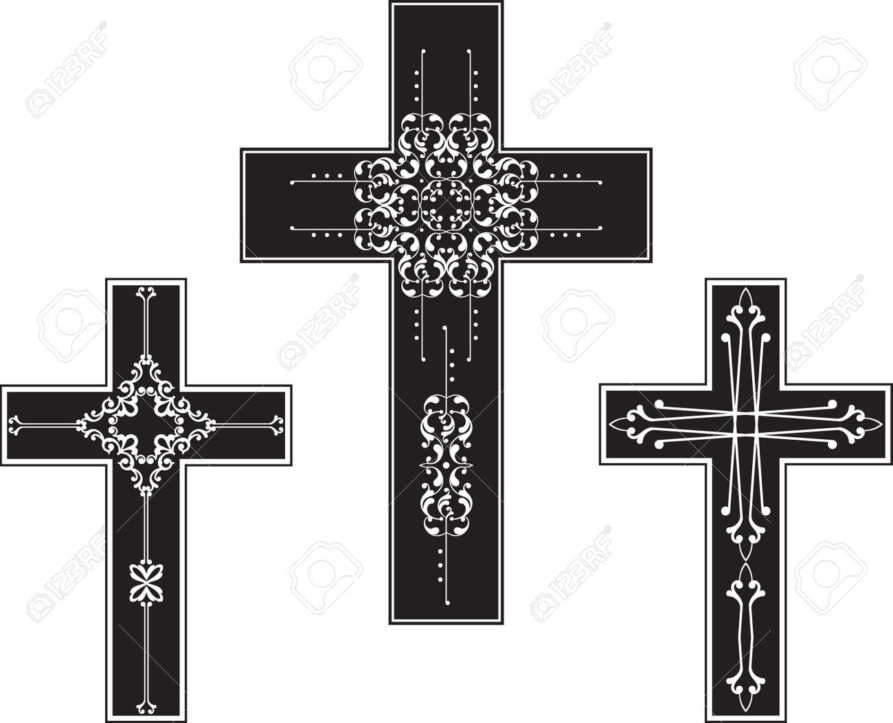 christian cross design vector art royalty free cliparts vectors rh 123rf com cross vector free download maltese cross vector art