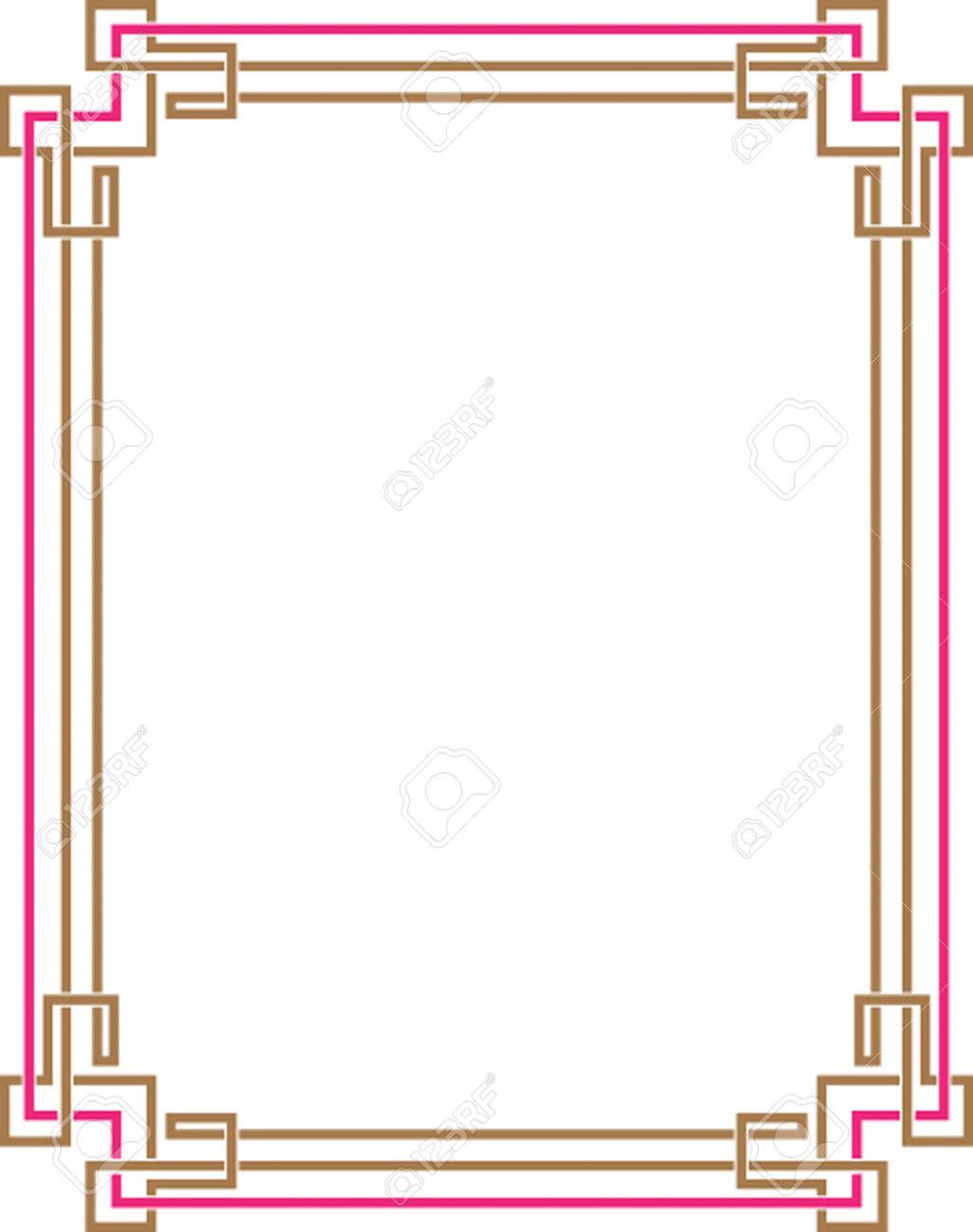 frame border. Unique Border Frame Border Design Vector Art Stock  32259988 For