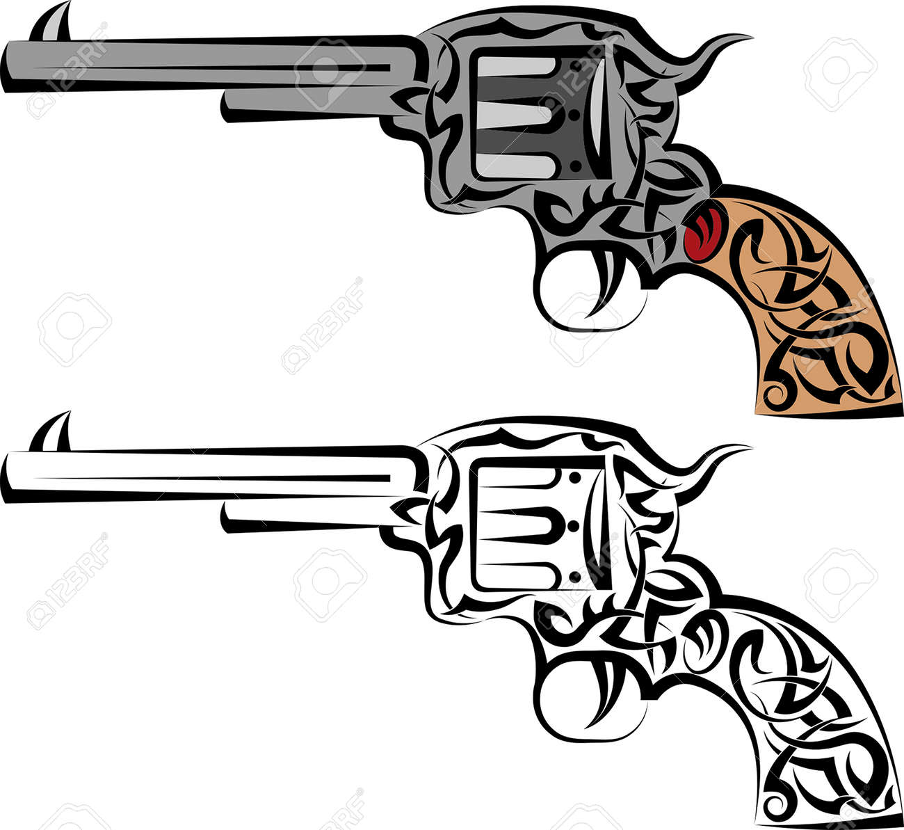 tattoo gun design vector art royalty free cliparts vectors and stock illustration image 46346498 tattoo gun design vector art
