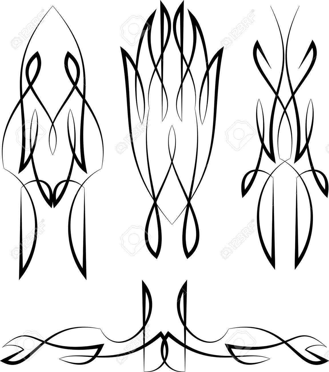 pinstripe graphics vinyl ready vector art royalty free cliparts rh 123rf com pinstripe vector graphics pinstripe vector download