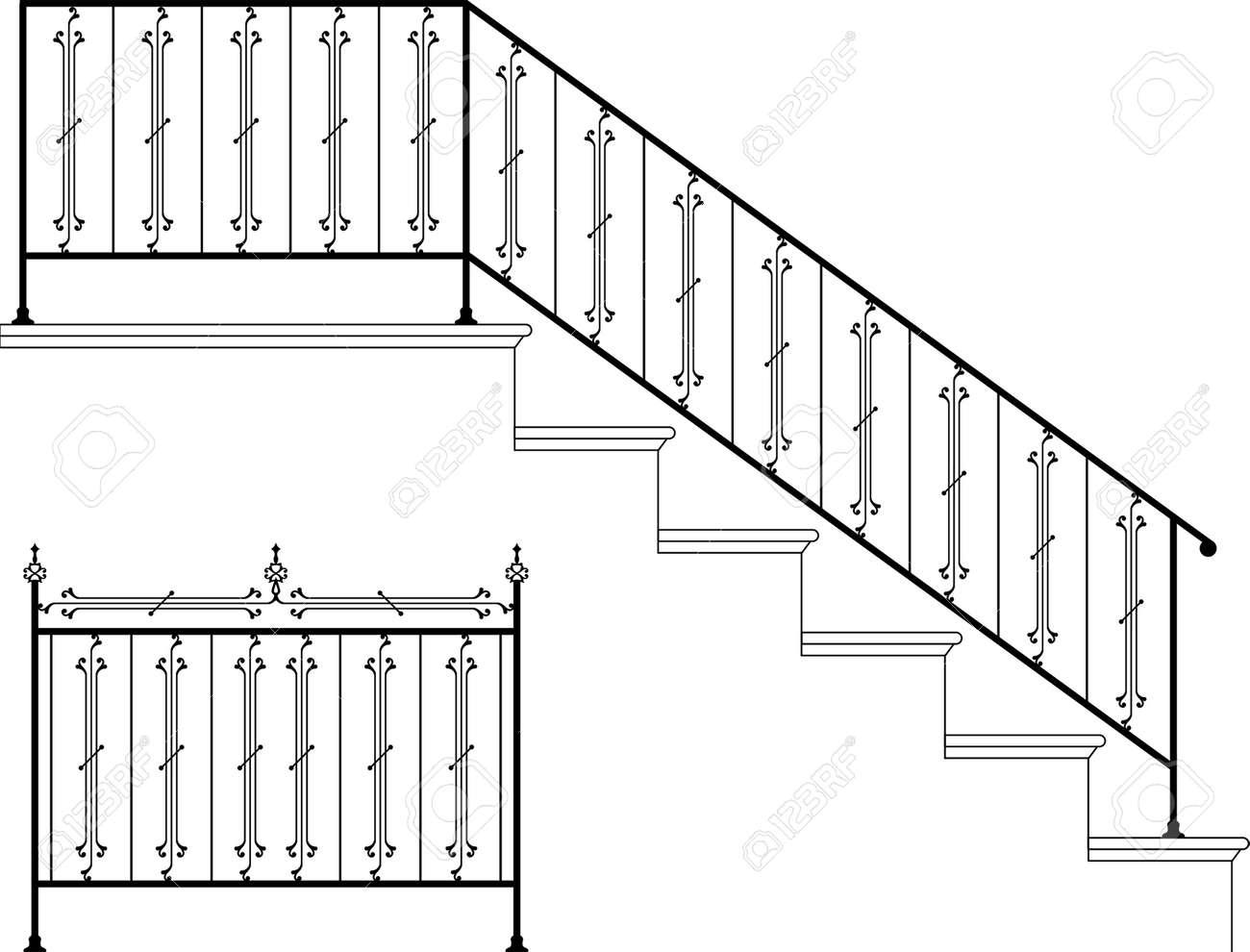 Diseo De Una Escalera Escaleras Metlicas Exteriores E Interiores  ~ Dimensiones Escalera De Caracol