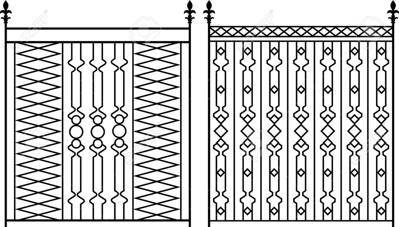 Wrought Iron Gate, Door, Fence, Window, Grill, Railing Design ...