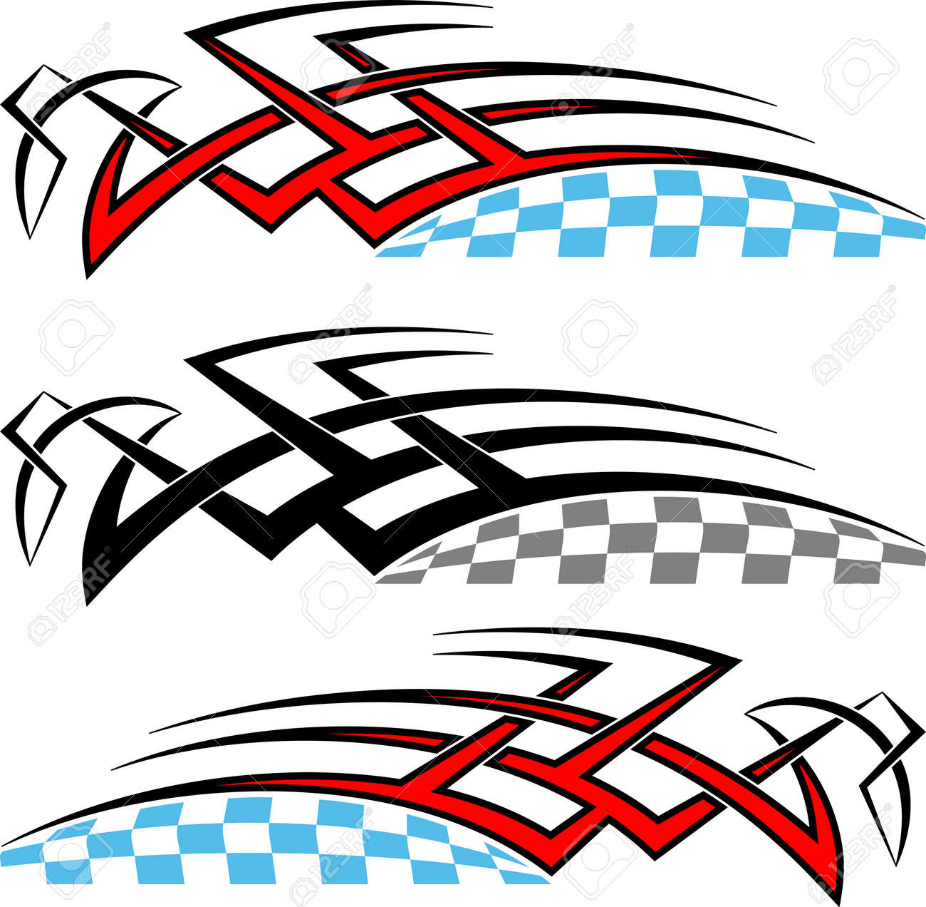 Tribal car decal vinyl ready vector illustration stock vector 55710660
