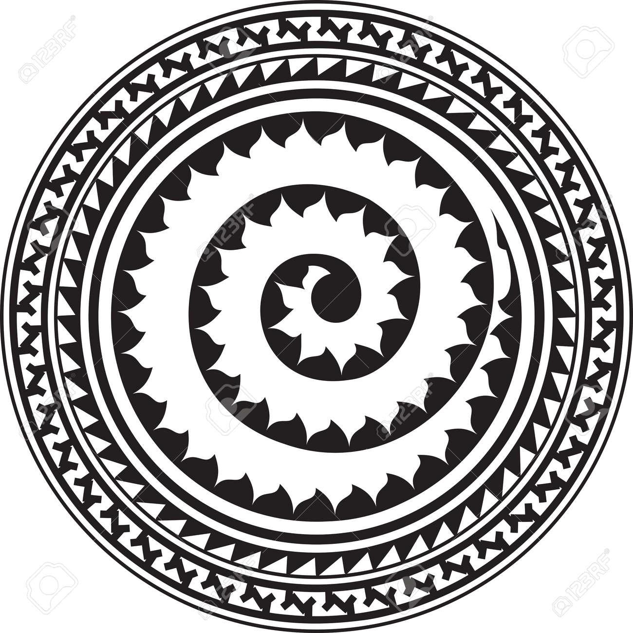 f150963c5 Tribal Tattoo Circular Vector Art Royalty Free Cliparts, Vectors ...