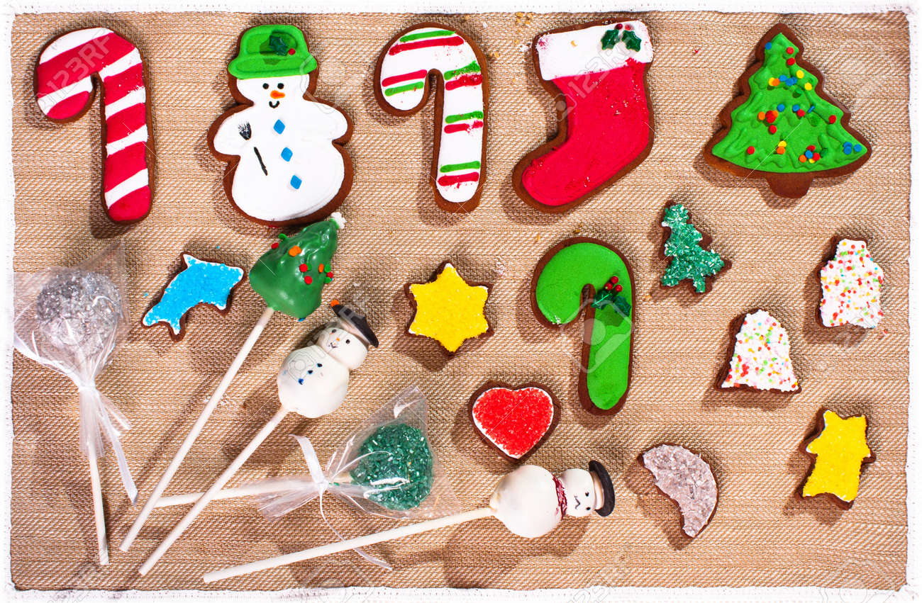 Christmas Cookies For Kids Stock Photo, Picture And Royalty Free ...