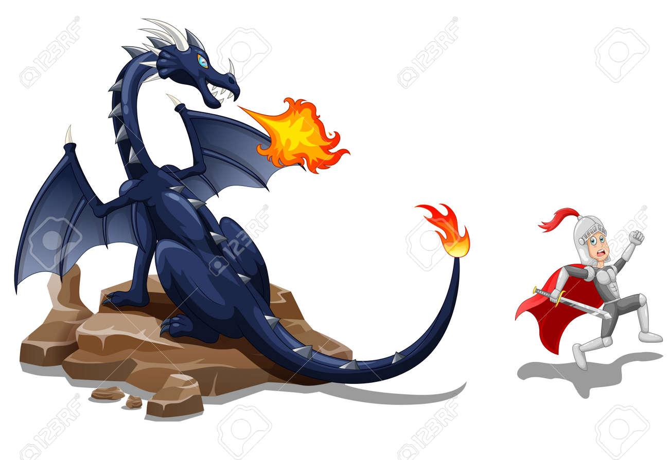 漫画激しい竜騎士ベクトル図のイラスト素材ベクタ Image 75100139