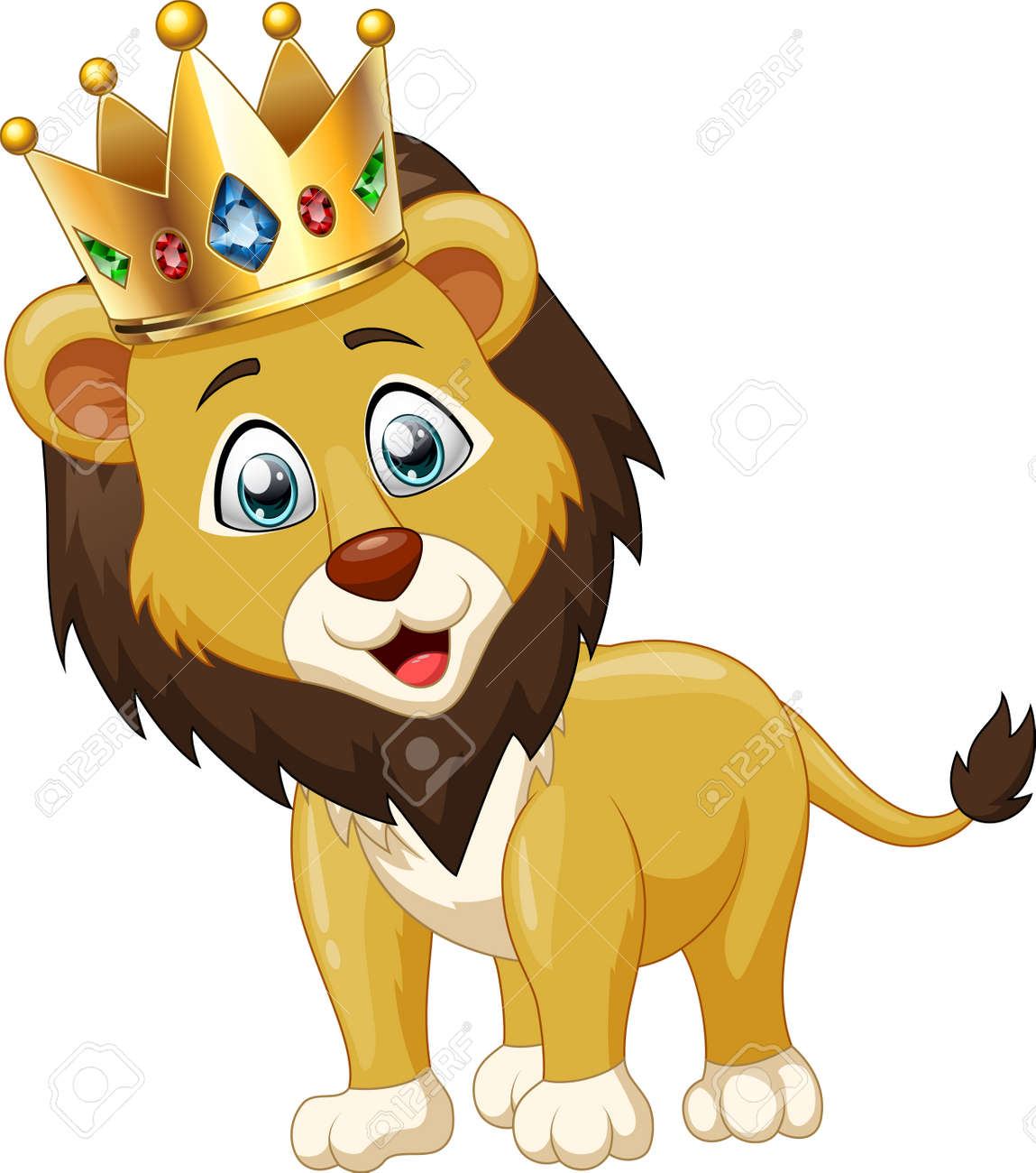 Cute Lion King Cartoon Vector Illustration Royalty Free Cliparts Vectors And Stock Illustration Image 76554493 Browse 1,367 crown cartoon images stock photos and images available, or start a new search to explore more stock photos and images. cute lion king cartoon vector illustration