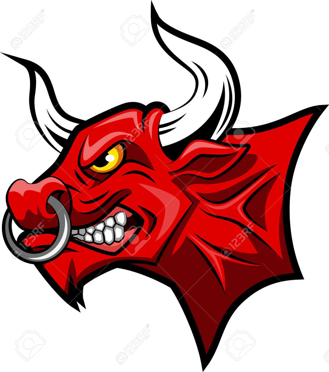 red bull mascot face vector illustration royalty free cliparts rh 123rf com bell vector art free download bill vector