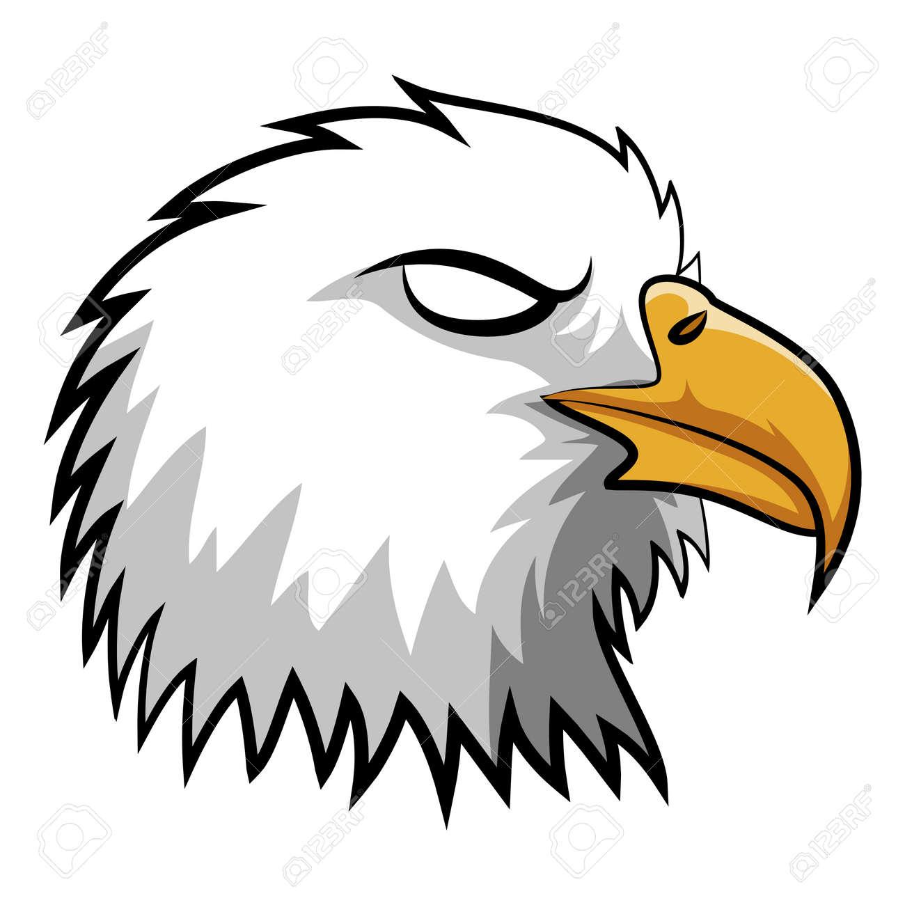 Angry Eagle Head Mascot Royalty Free Cliparts Vectors And Stock