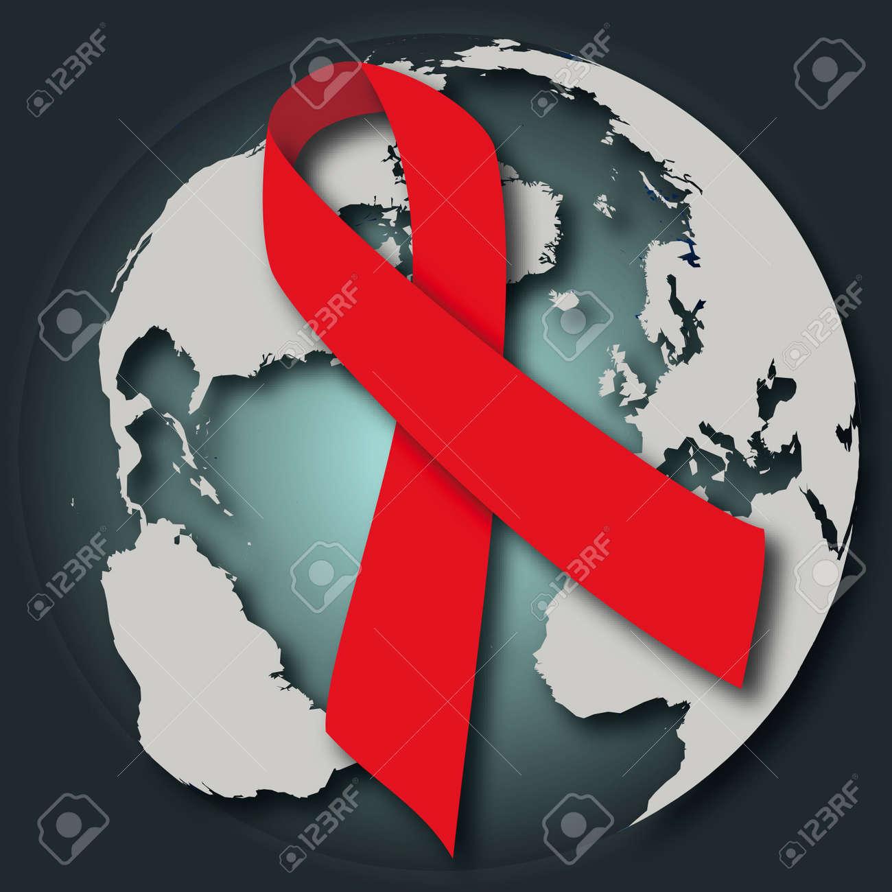 Disease in the world: virus Stock Vector - 14523734