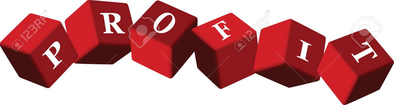 Economy background: profit Stock Vector - 14649141