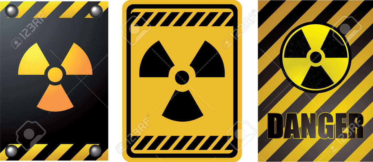 Nuclear power panels Stock Vector - 14880960