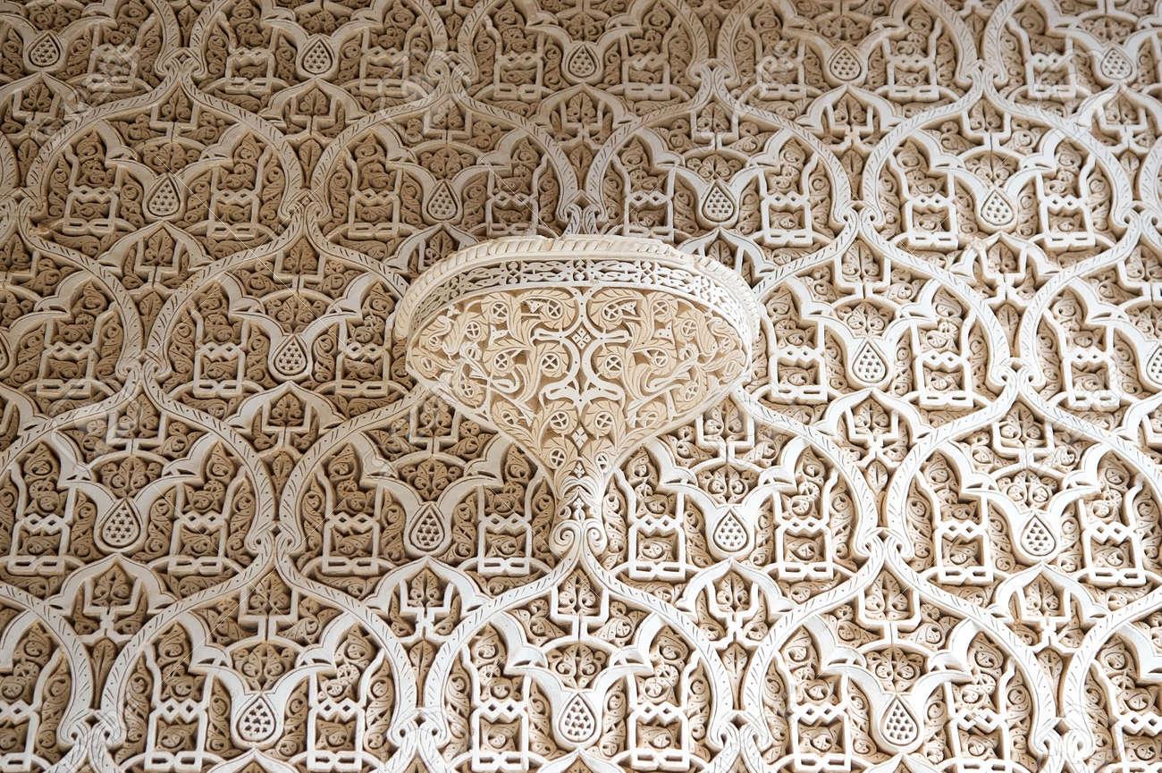 Kasbah De Telouet, Maroc: La Décoration à L\'intérieur Du Motif ...