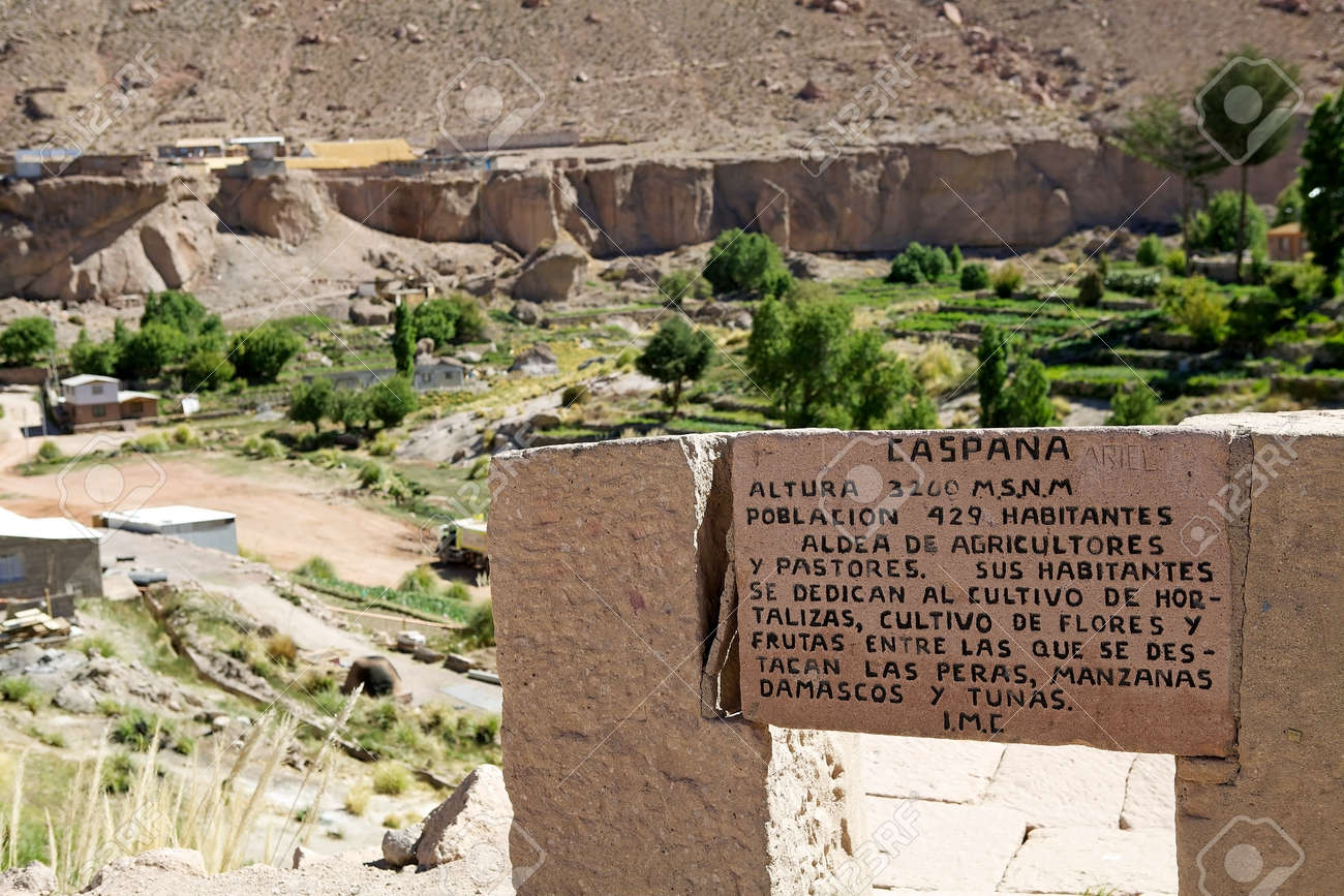 Caspana Village Chile Caspana Is A Chilean Village 85 Km From