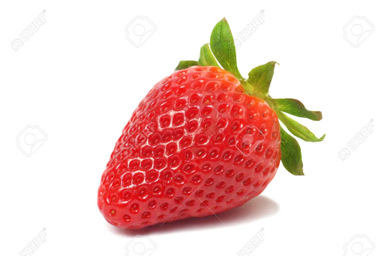 Fresh strawberry on white background Stock Photo - 14410677