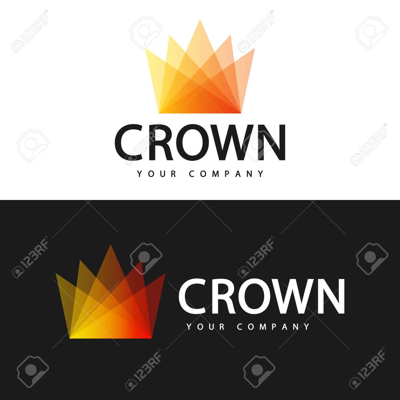 Logo template. Crown logo design. - 168190970