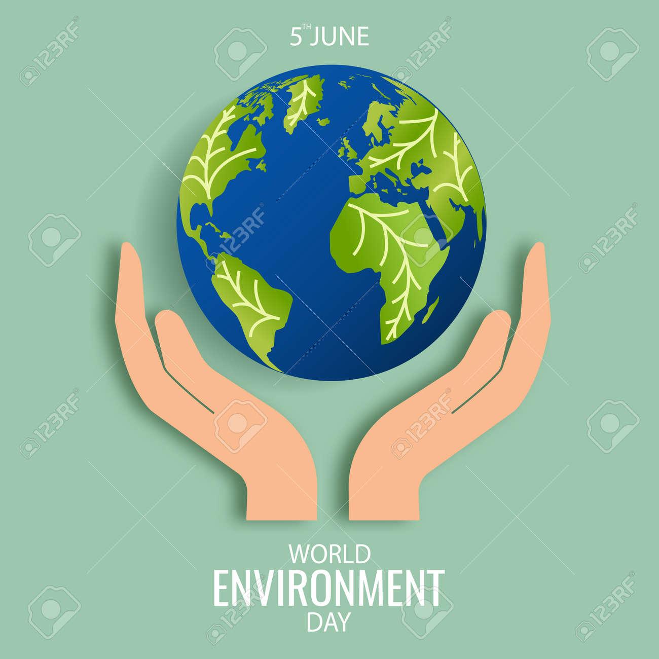 Vector Illustration of World Environment Day. - 168191068