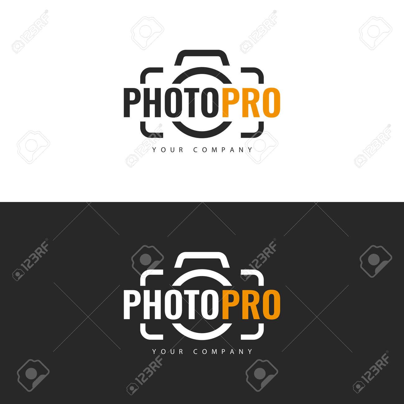 Logo template. Photo Studio Logo design. - 168191084