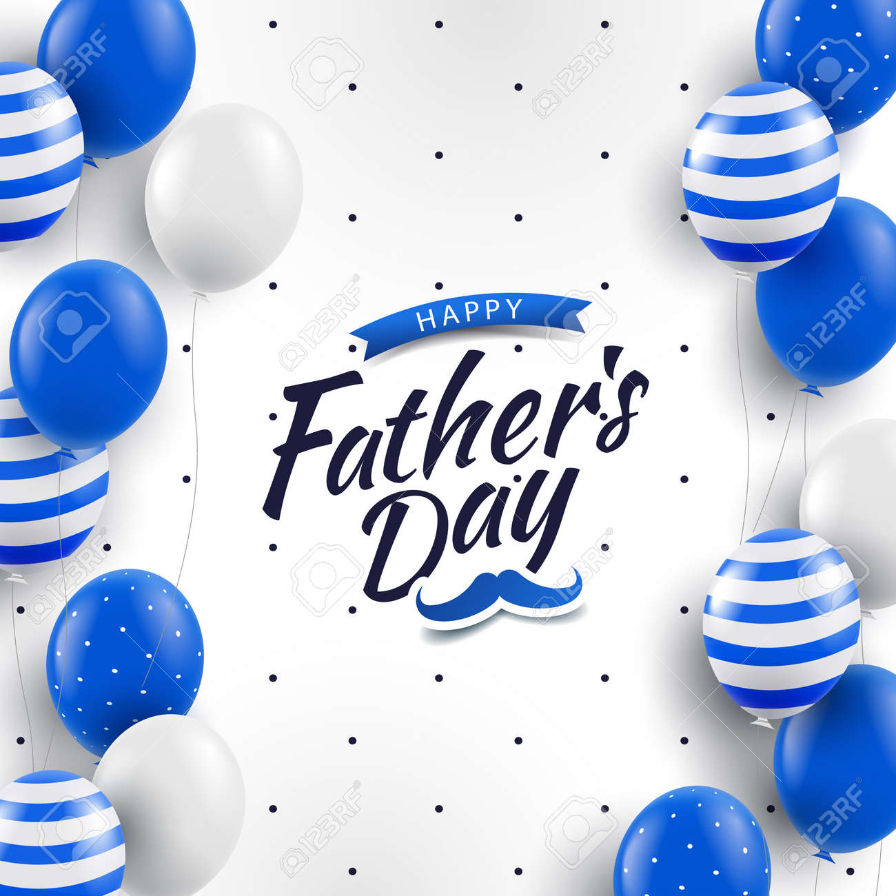 Vector Illustration of Father's day - 169208310