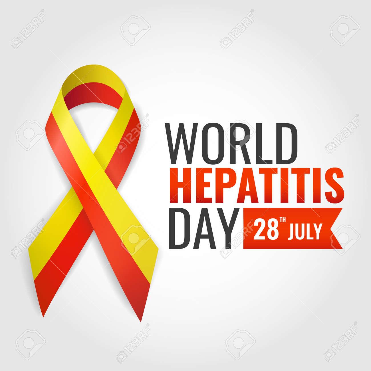 Vector Illustration of World Hepatitis Day - 169318179