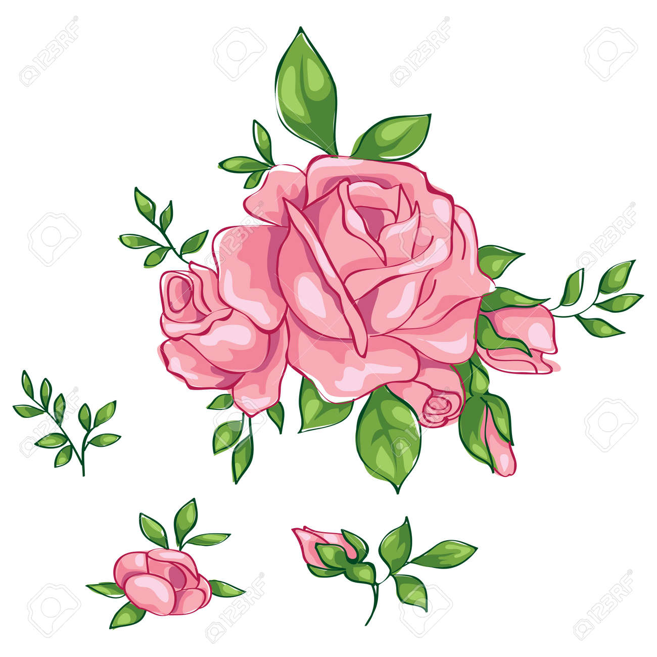 roses vintage royalty free cliparts vectors and stock illustration rh 123rf com vector ross cook victor roseski