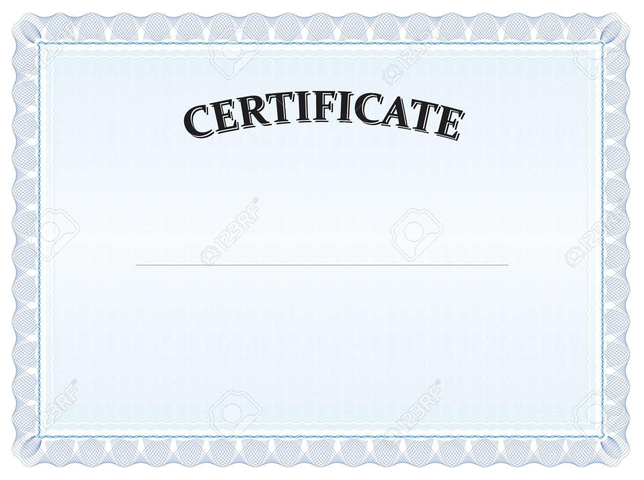 printable stock certificate