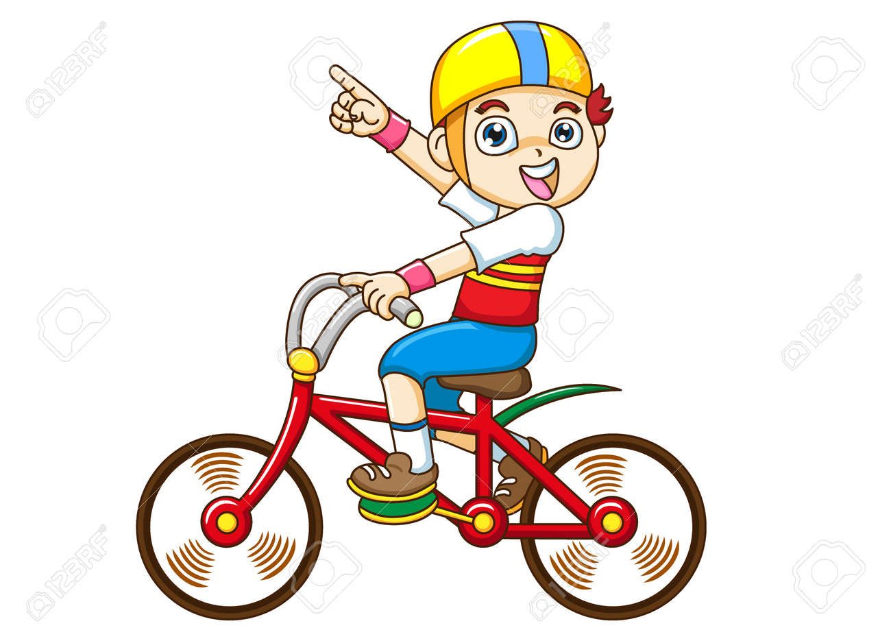 boy Riding a bicycle Stock Photo - 11259403