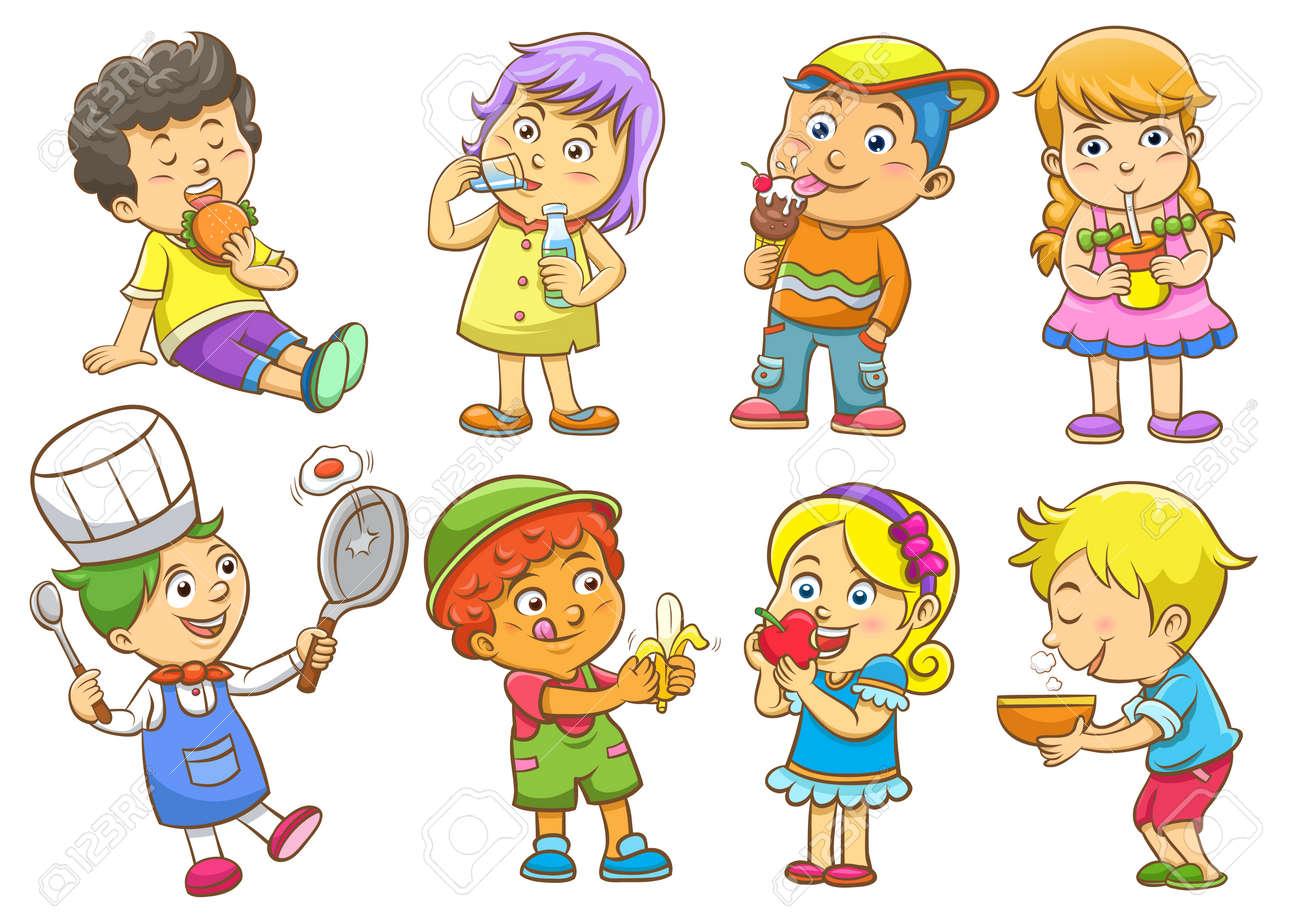 set of child activities routines - 35572088