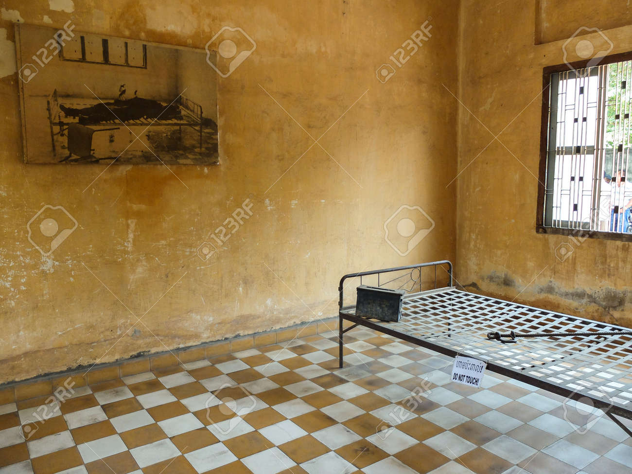 Phnom Penh Cambodia March 17 2015 Tuol Sleng Prison Of Stock Photo Picture And Royalty Free Image Image 52569172