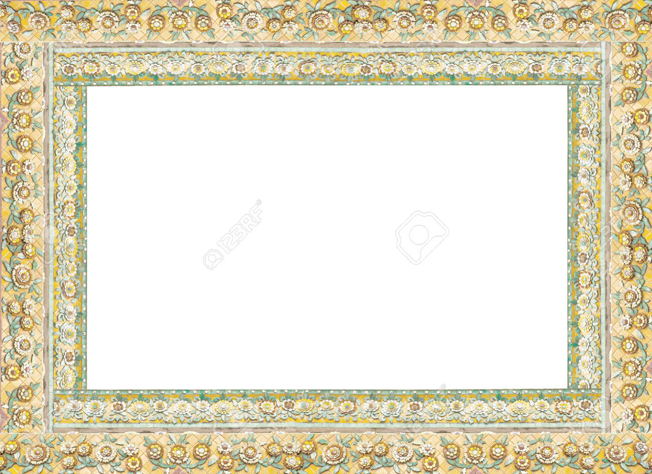 Thai frame china porcelain decorated in thai blank frame stock thai frame china porcelain decorated in thai blank frame stock photo 21932944 jeuxipadfo Image collections