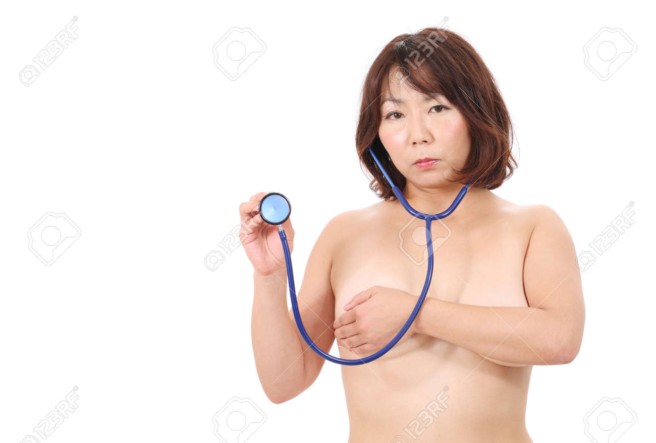 Asian woman with stethoscope Stock Photo - 16084314