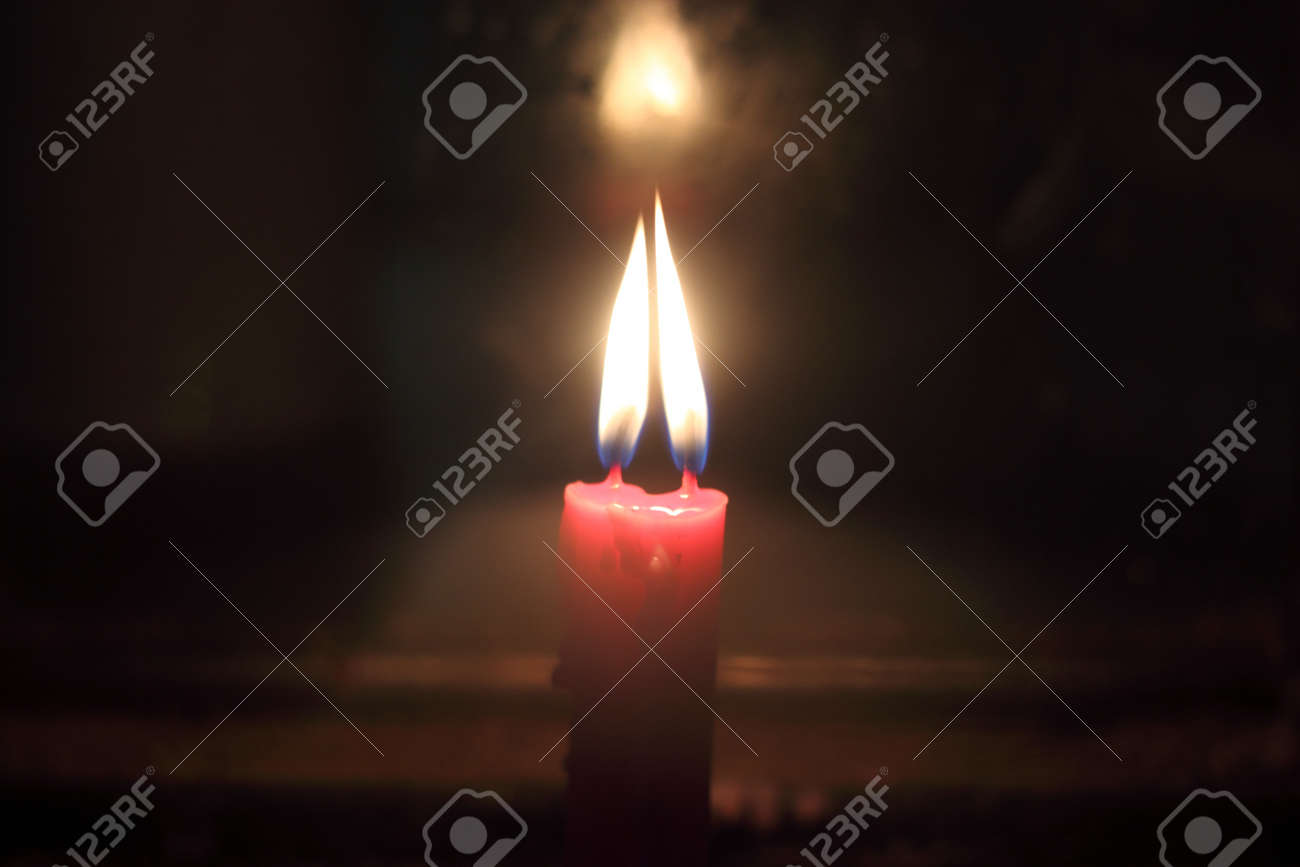 candle of valentine Stock Photo - 17021618