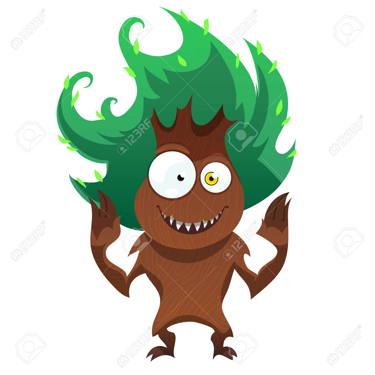 Funny Tree Monster For Halloween Spooky Tree Isolated On White Royalty Free Cliparts Vectors And Stock Illustration Image 64751248 A good example would be an image of the south park characters done. funny tree monster for halloween spooky tree isolated on white