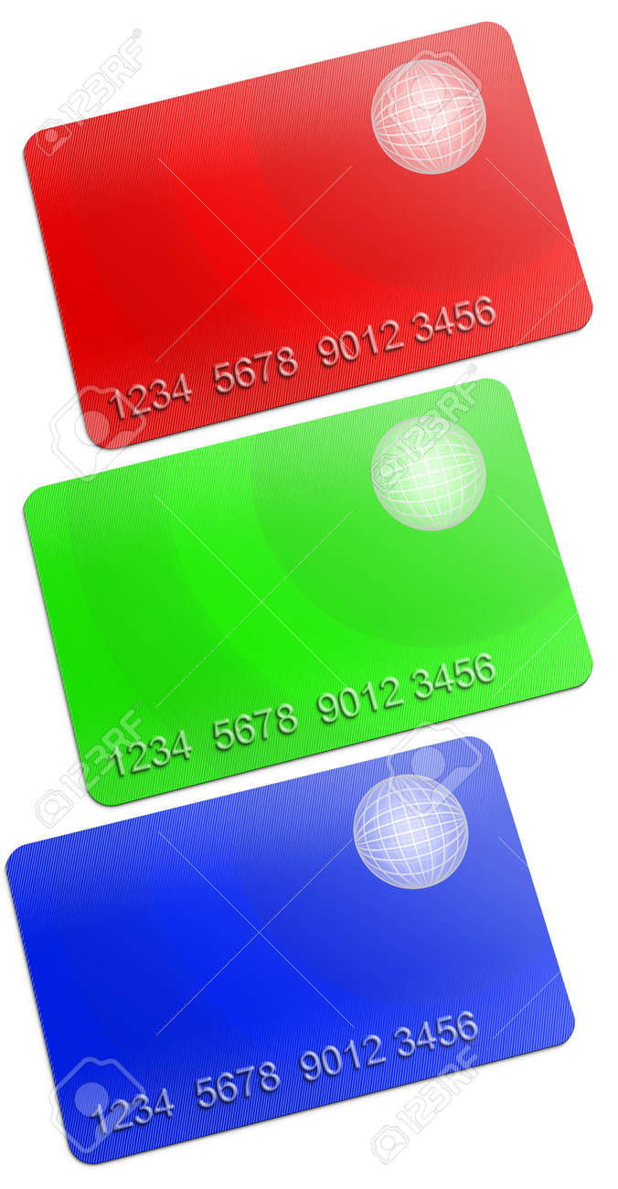 Membership rgb Card on white background Stock Photo - 11889570