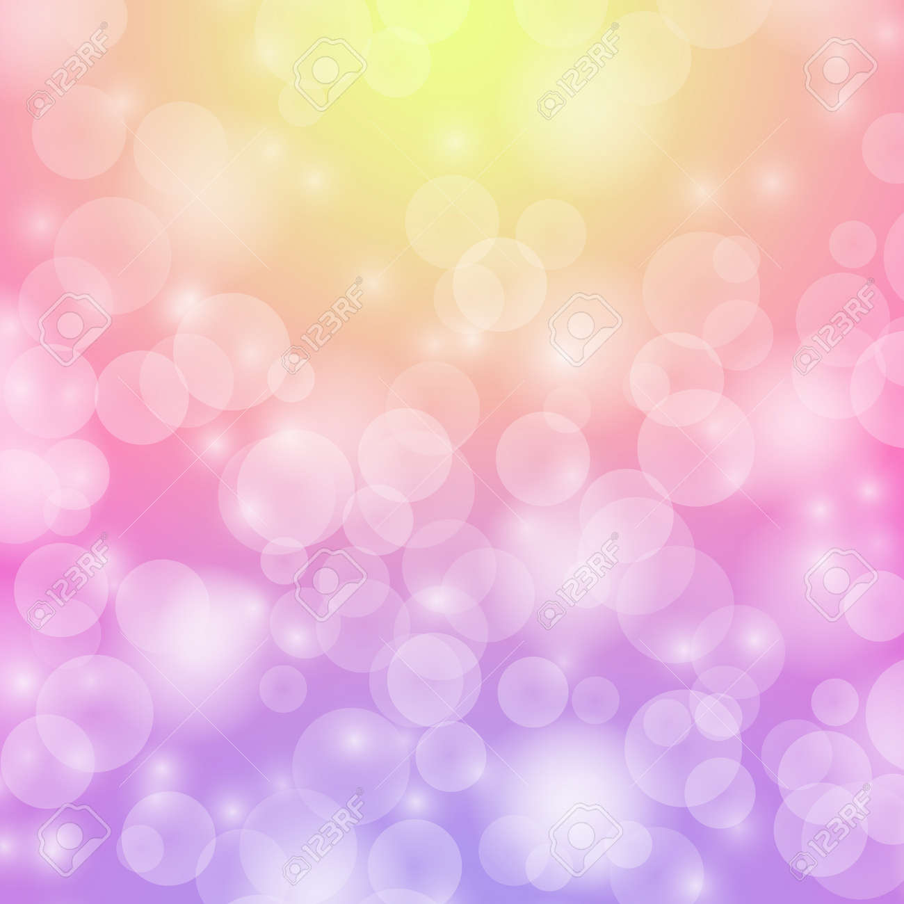 Abstract background with circles  Light effects  The gentle tone