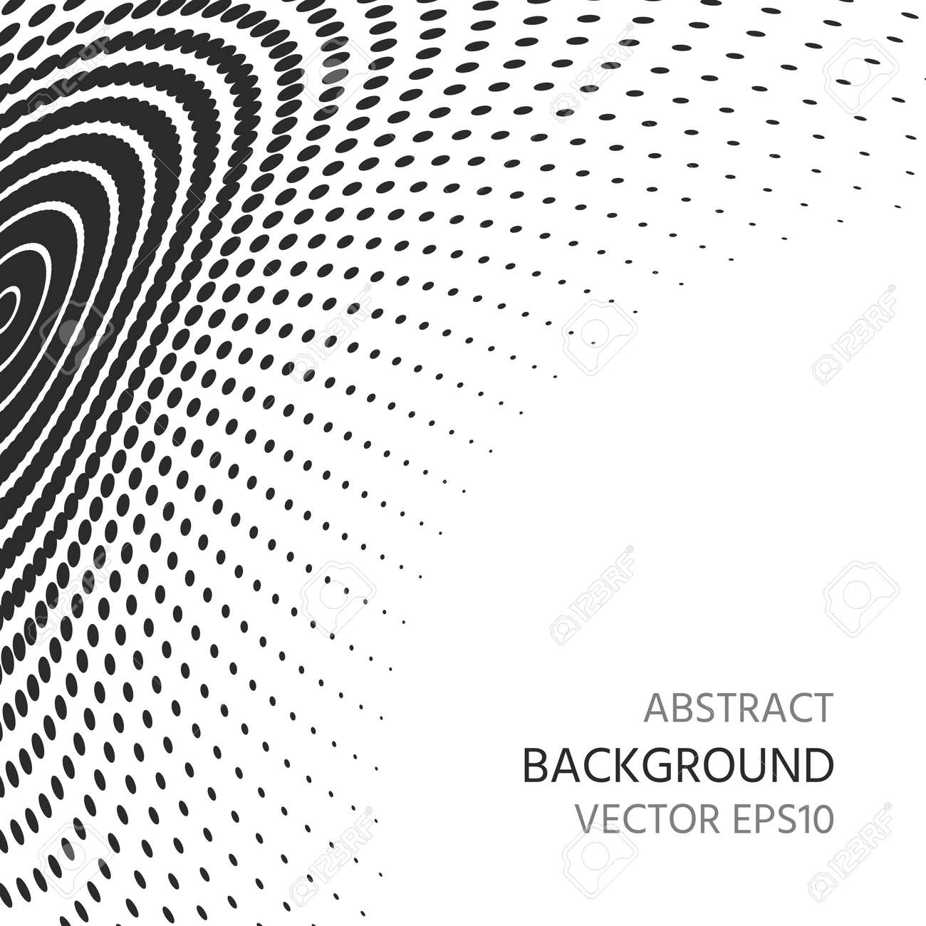 Abstract background of semitones. Distortion of space. - 80684671